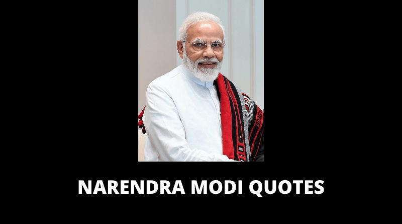 Narendra Modi Quotes featured