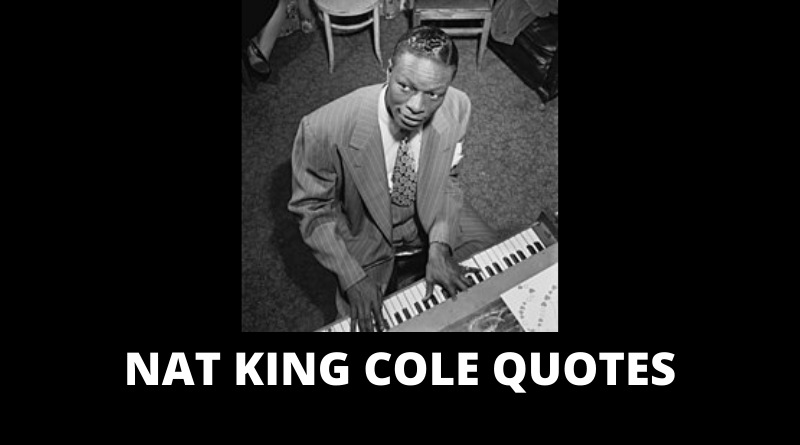 Nat King Cole quotes featured