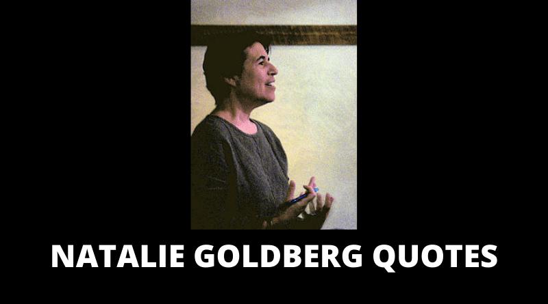 Natalie Goldberg Quotes featured