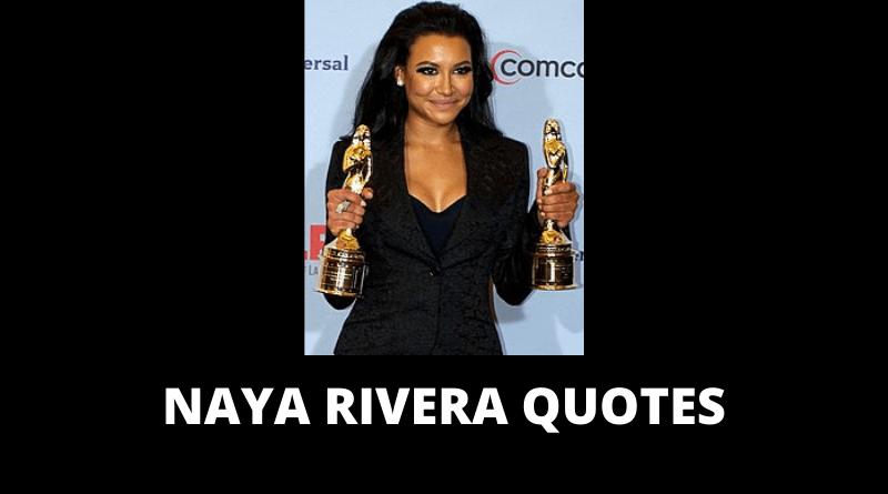 Naya Rivera quotes featured