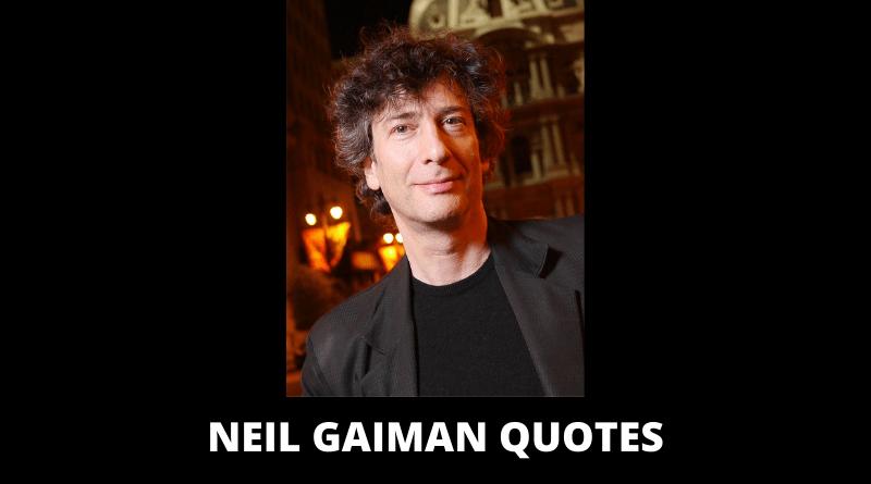 Neil Gaiman Quotes featured