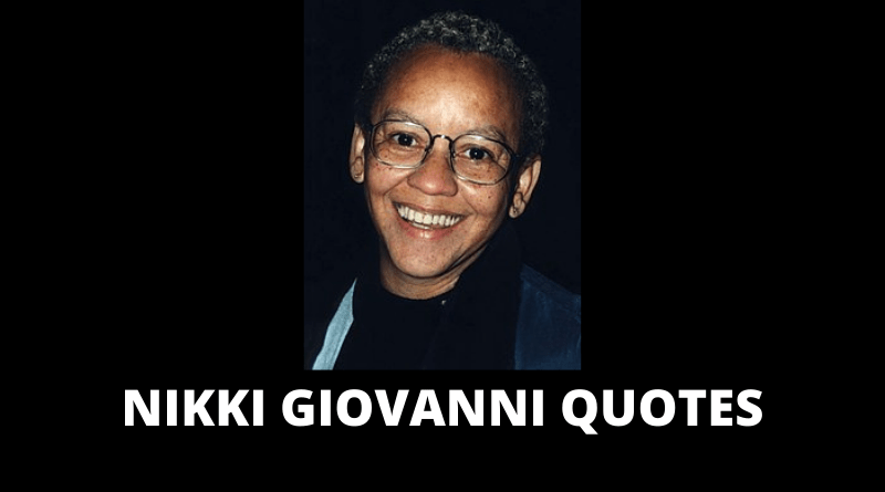 Nikki Giovanni quotes featured