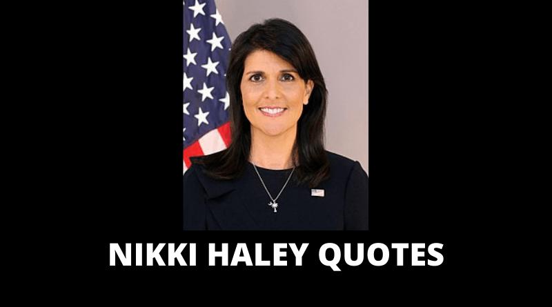 Nikki Haley quotes featured