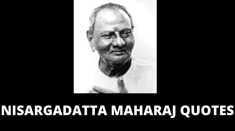 Nisargadatta Maharaj quotes featured