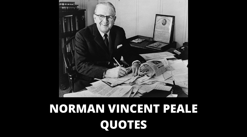 Norman Vincent Peale Quotes featured