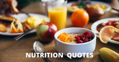 Nutrition quotes featured