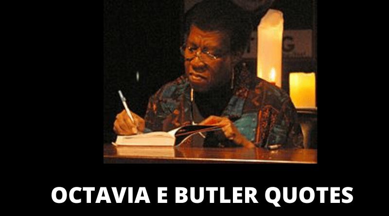 OCTAVIA BUTLER QUOTES FEATURED