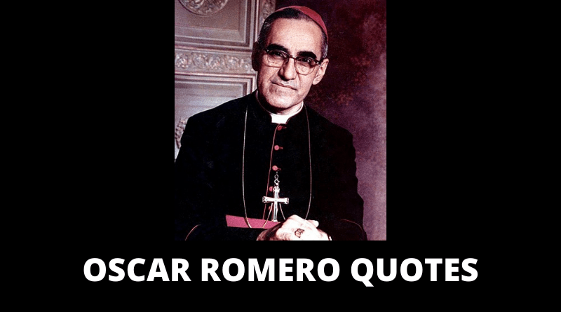 OSCAR ROMERO QUOTES FEATURED