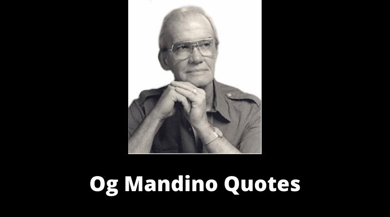 Og Mandino Quotes featured
