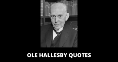Ole Hallesby Quotes featured