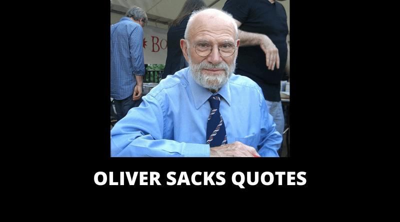 Oliver SacksQuotes featuredd