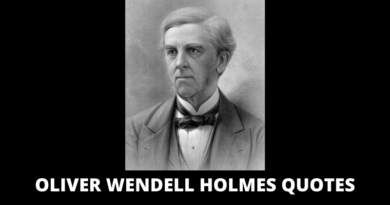 Oliver Wendell Holmes Quotes featured