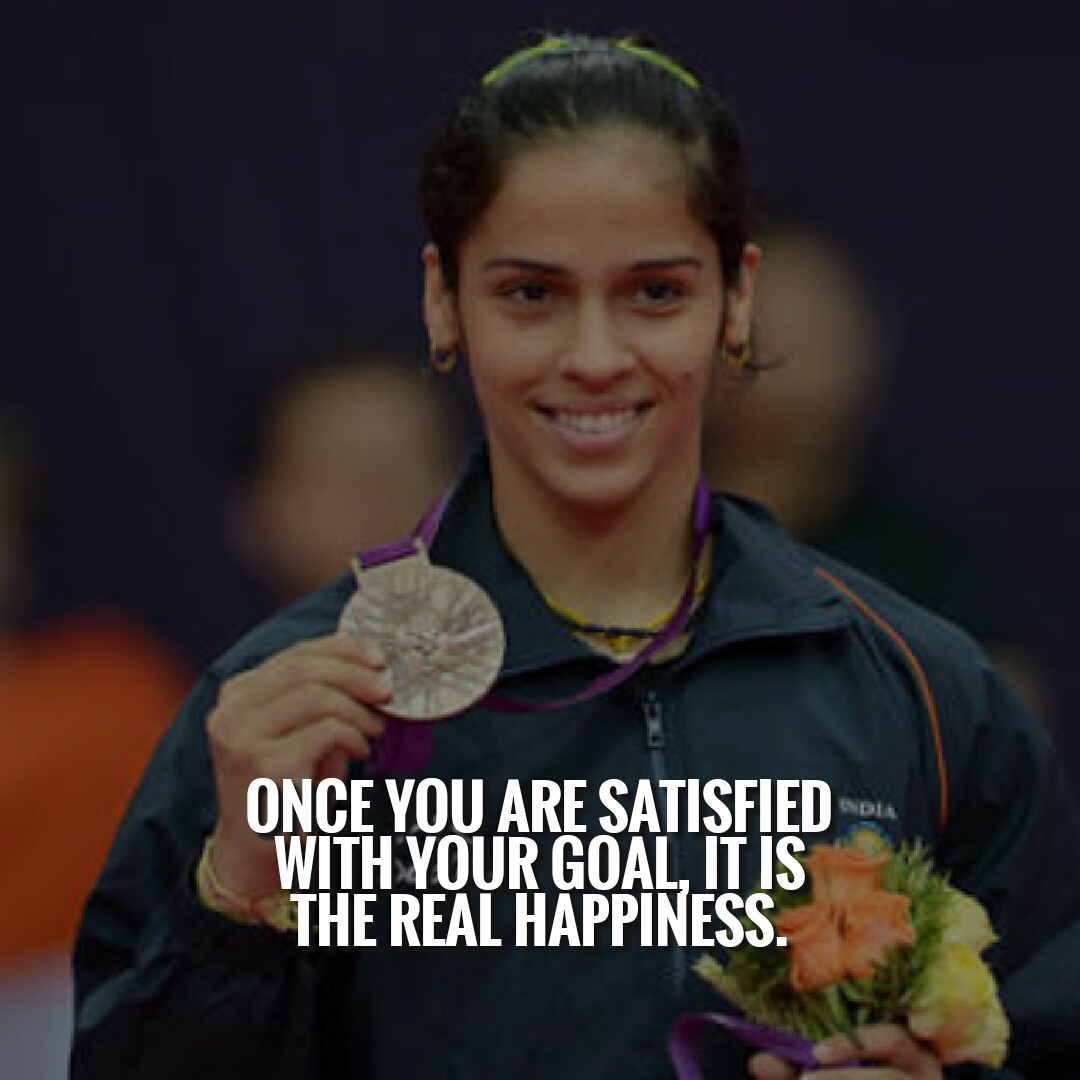 Saina Nehwal quotes