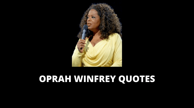 Oprah Winfrey Quotes featured