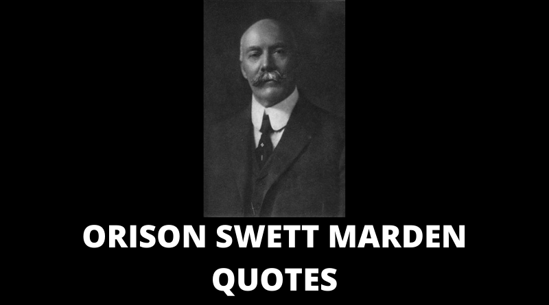 Orison Swett Marden Quotes featured