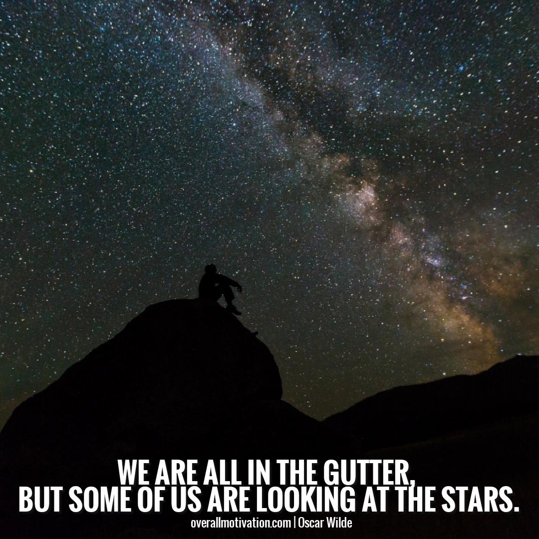 Oscar Wilde Quotes Gutter