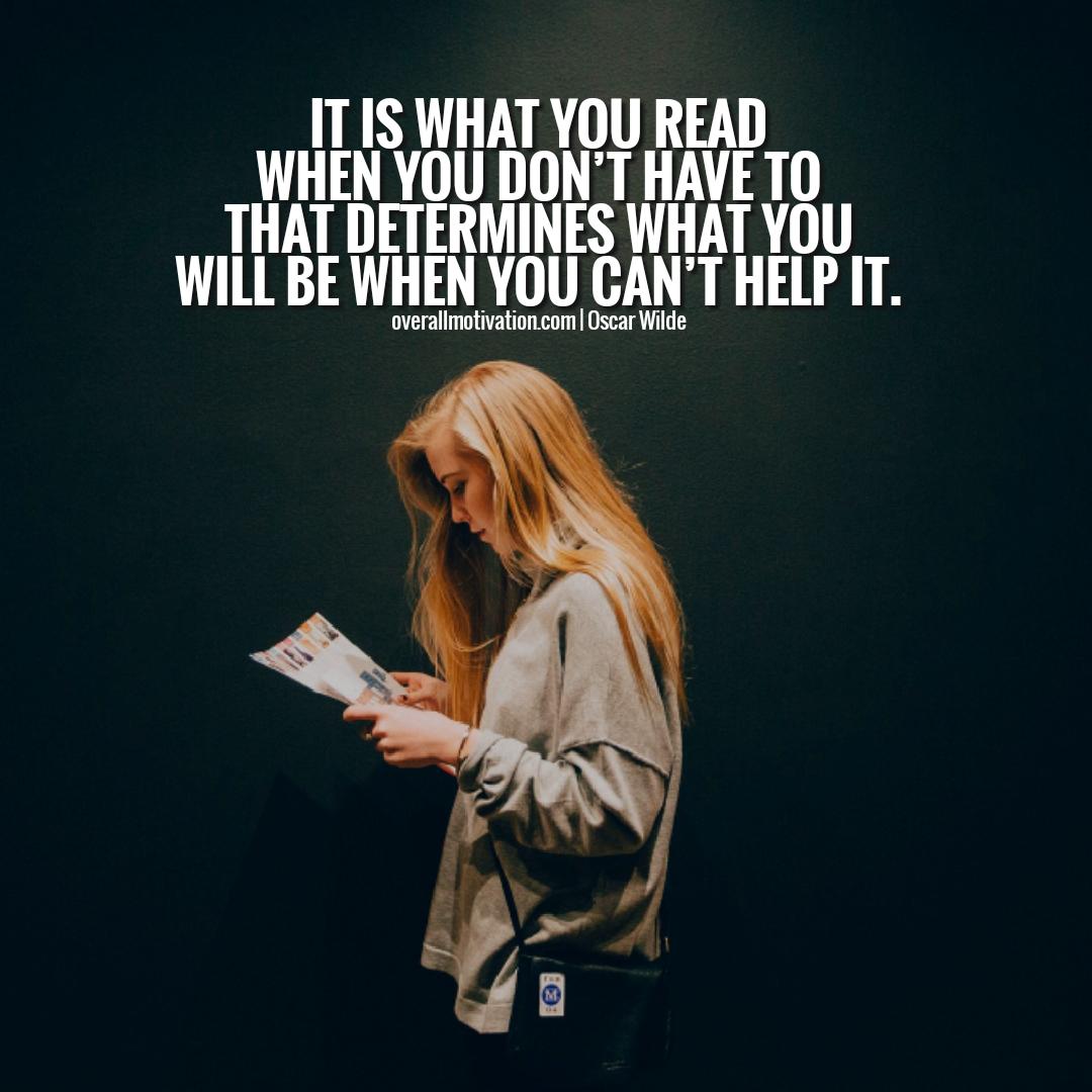 Oscar Wilde Quotes Reading