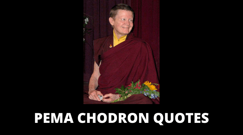 Pema Chodron Quotes featured