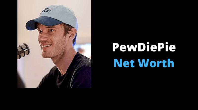 PewDiePie Net Worth featured