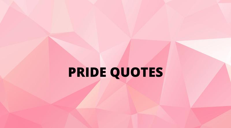 Pride Quotes Featured