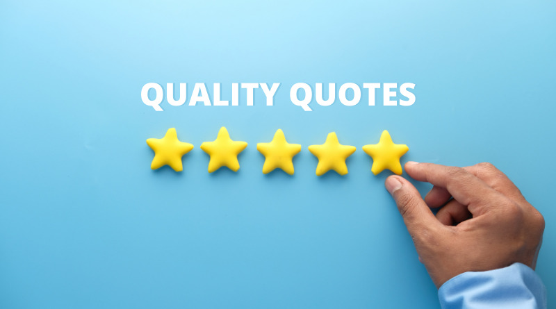 Quality Quotes Featured