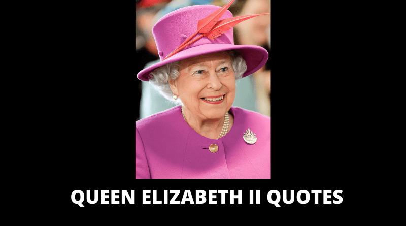 Queen Elizabeth II Quotes featured
