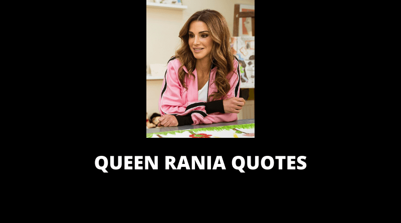 Queen Rania Quotes featured