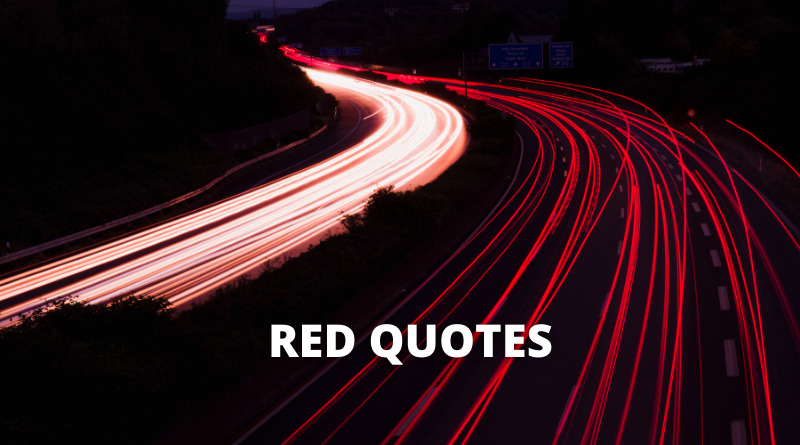 RED QUOTES FEATURE