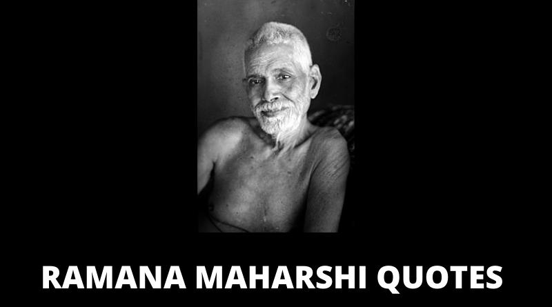 Ramana Maharshi quotes featured