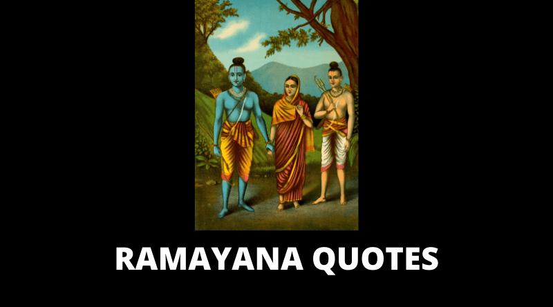Inspirational Ramayana Quotes