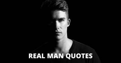 Real Man Quotes Featured