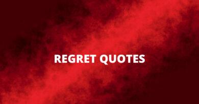 Regret Quotes Featured