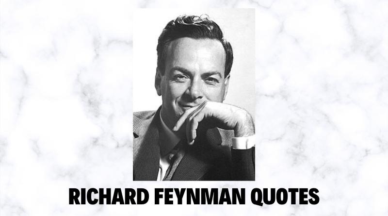 Motivational Richard Feynman quotes featured