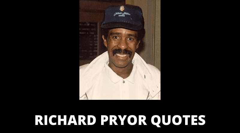 Richard Pryor quotes featured