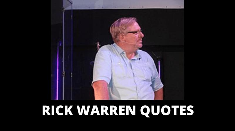 Rick Warren Quotes Featured