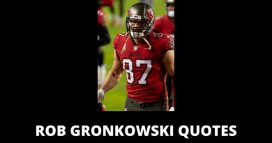 Rob Gronkowski quotes featured