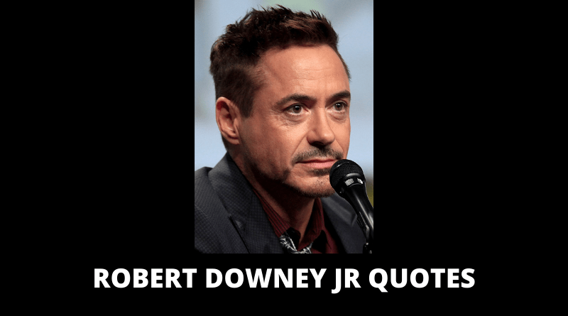 Robert Downey Jr Quotes featured