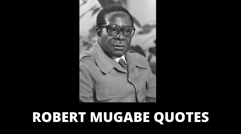 Robert Mugabe Quotes featured