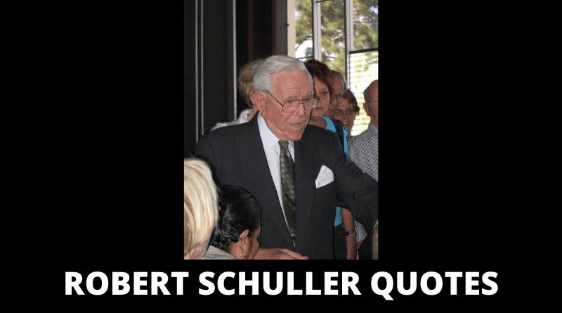 Robert Schuller quotes featured