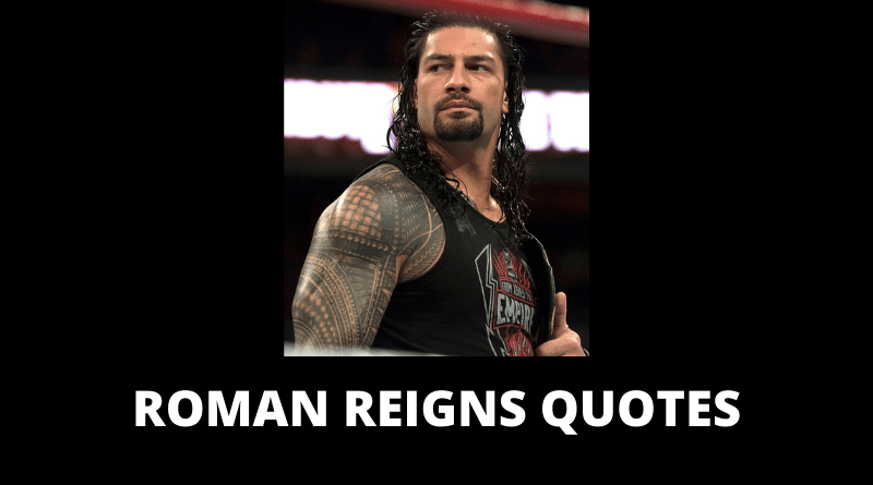 Roman Reigns Quotes featured