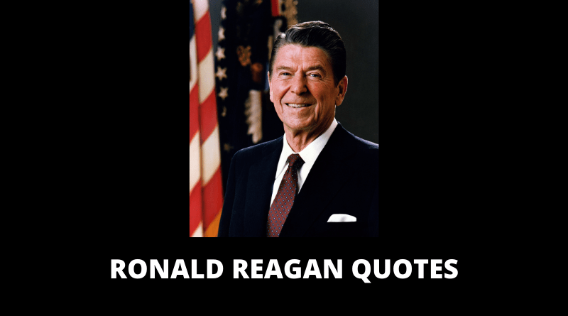 Ronald Reagan Quotes featured