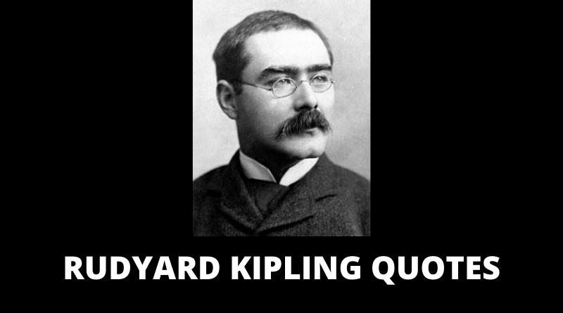 Rudyard Kipling quotes featured