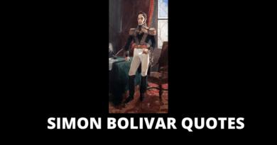 SIMON BOLIVAR QUOTES FEATURED