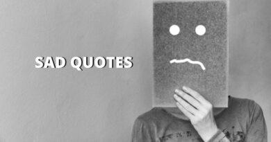 Sad Quotes Featured