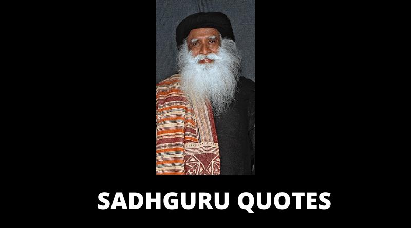 Sadhguru Quotes Featured