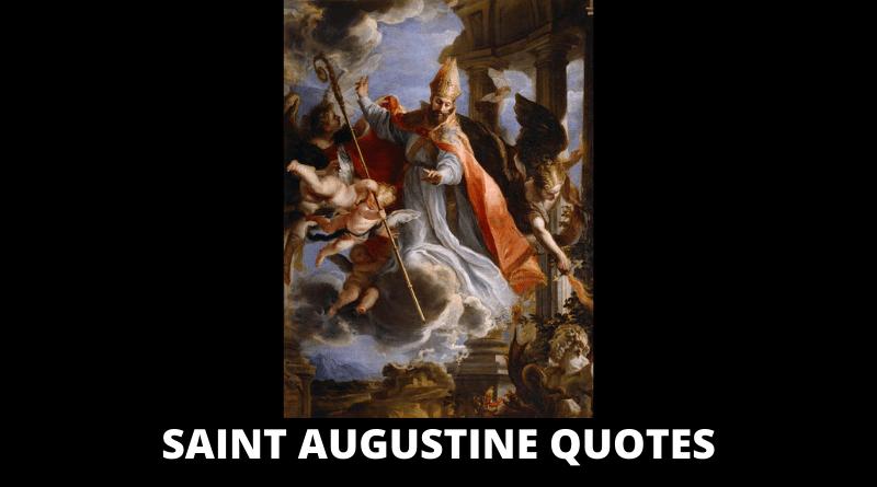 Saint Augustine Quotes featured