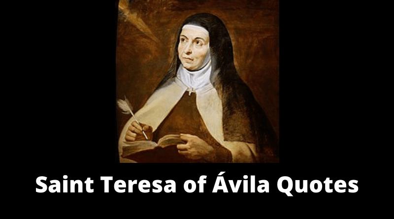 Saint Teresa of Avila quotes featured
