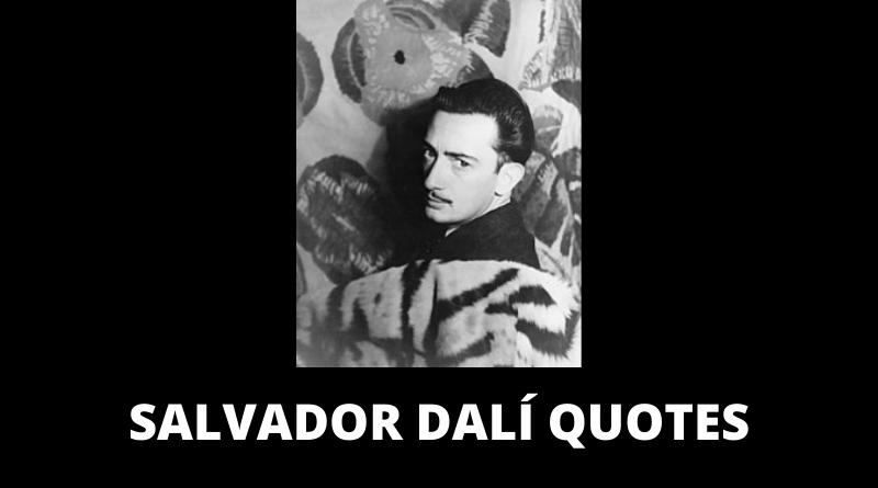Salvador Dali quotes featured