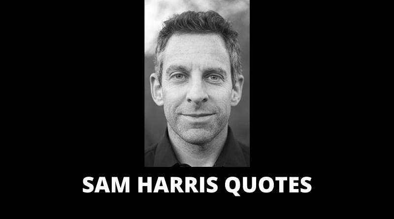 Sam Harris quotes featured
