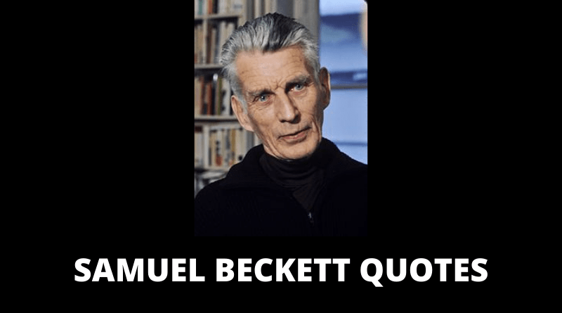 Samuel Beckett quotes featured